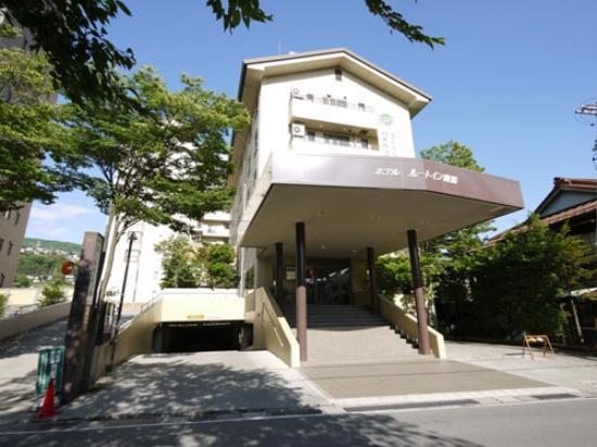 Hotel Route-Inn Kamisuwa: 外観写真
