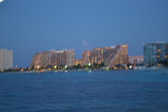 Grand Fiesta Americana Coral Beach Cancun: Desde el barco pirata