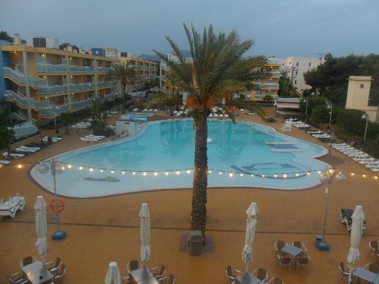 Terralta Apartamentos Turisticos: view from our balcony