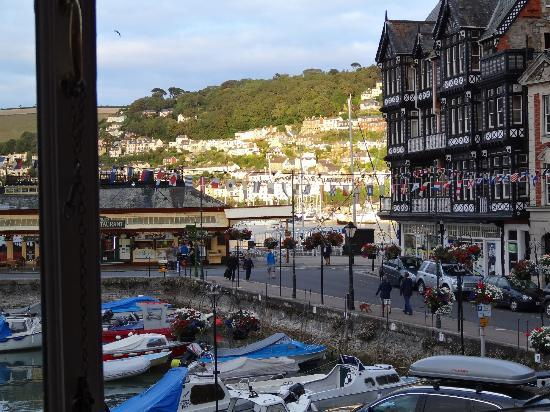 View from Taylor's Restaurant, Dartmouth