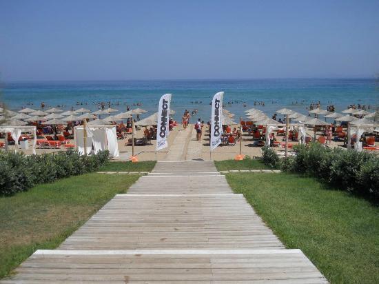 Castelli Hotel: BANANA BEACH