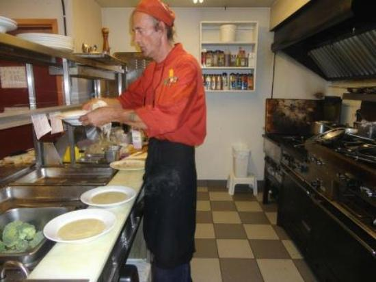 Westwind Inn: Chef Michael Working his Magic