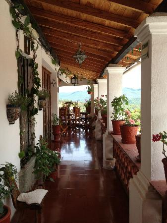 Hotel Mi Casita: Terrace on our floor