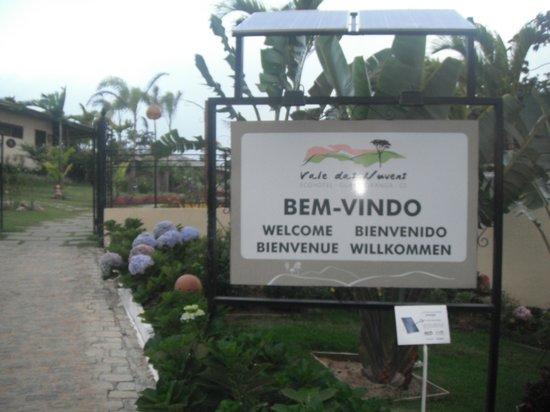 Guaramiranga, CE: entrada do hotel