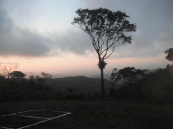 Guaramiranga, CE: vista do restaurante