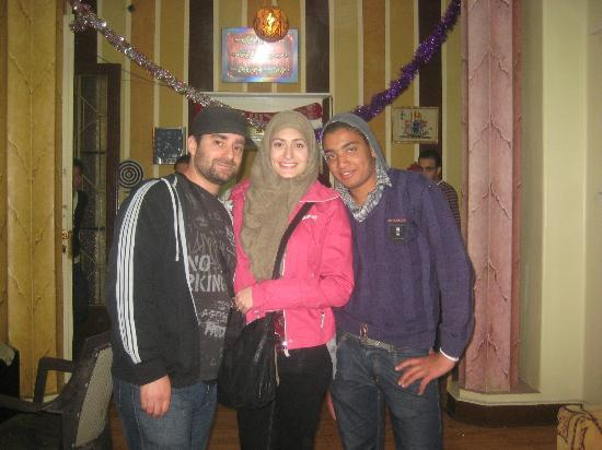 Miami Cairo Hostel: Friends