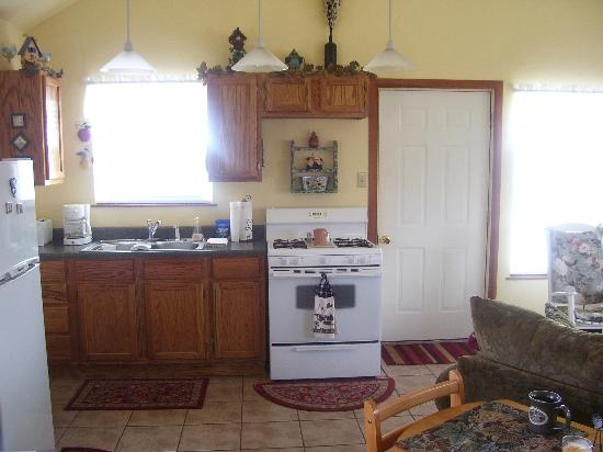 Foster, OK: Kitchen