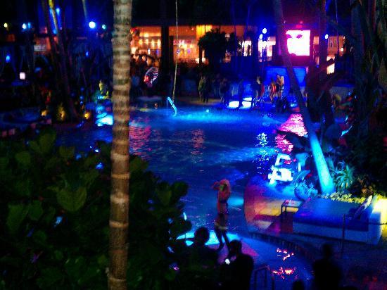 Pool After Dark Picture Of Harrah S Resort Atlantic City