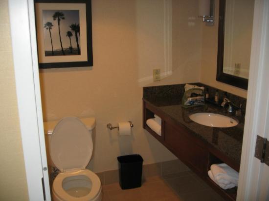 Bathroom Sinks Los Angeles bathroom sink and toilet - picture of los angeles marriott burbank
