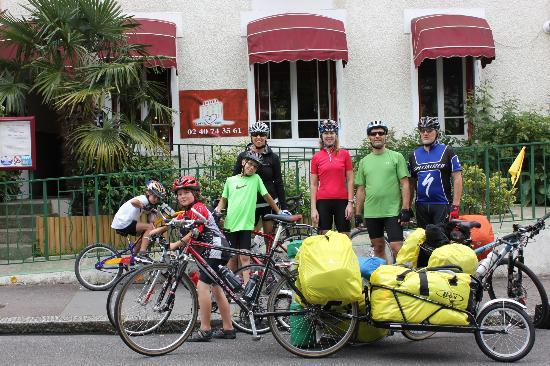 Coeur De Loire : Départ pour la Loire à vélo