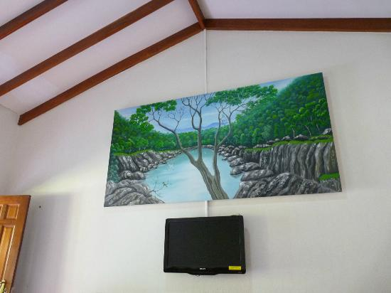 Las Islas Lodge: Painting in room