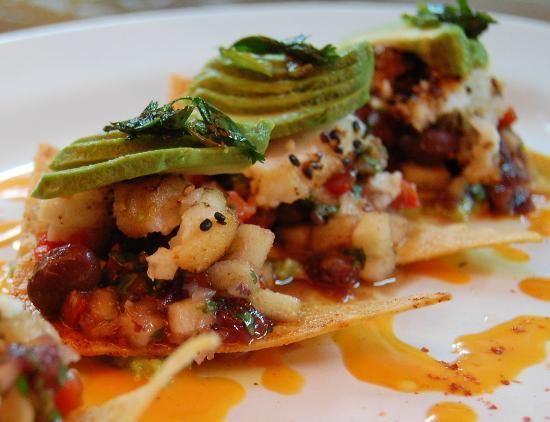 Kinta Mexican Bistro : Lion Fish Tostadas
