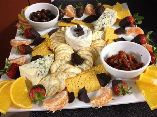 Clearwater Island Lodge : Cheese Platter
