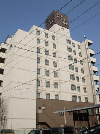 Hotel Route Inn Takasakieki Nishiguchi: 外観写真