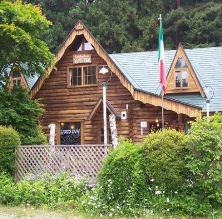 Log Home Pension Wood Inn