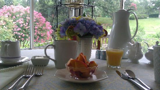 Meadow Gardens Bed and Breakfast: Breakfast