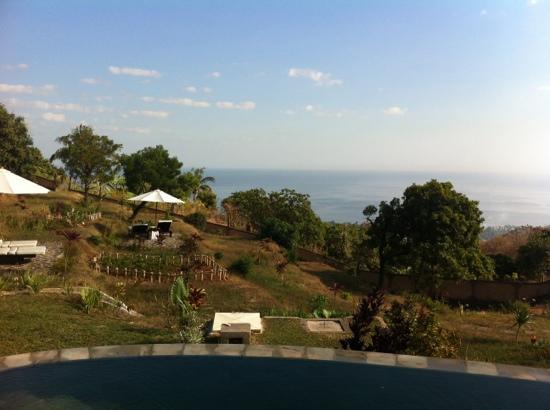The Hamsa Resort: ausblick auf lovina 