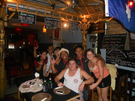 Sammy's : The best people in Bali!