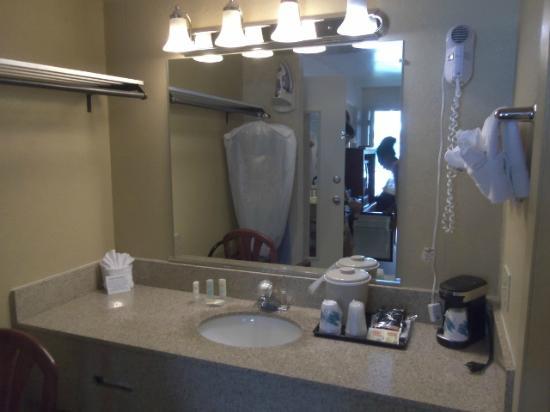Quality Inn - Flagstaff / East Lucky Lane : sink/counter top
