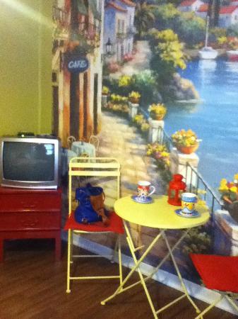 The Rex Motel : Mediterranean Cafe Mural
