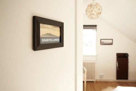 "Blue House: Room ""Snæfellsnes"""