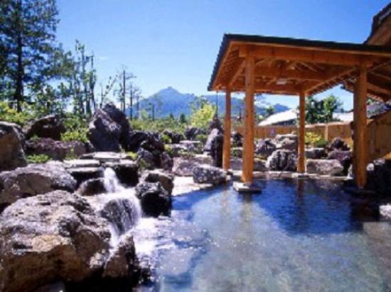 Hachimantai Heights: 大浴場岩露天風呂