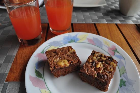 Hotel Galapagos Suites: Josy's delicious brownies