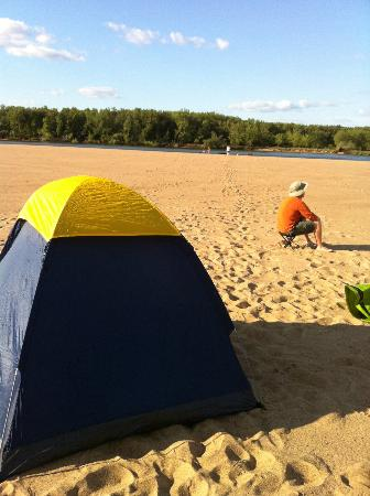 WI River Outings: Camping on the WI River