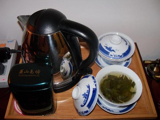 Tunxi Lodge: The Tea-set