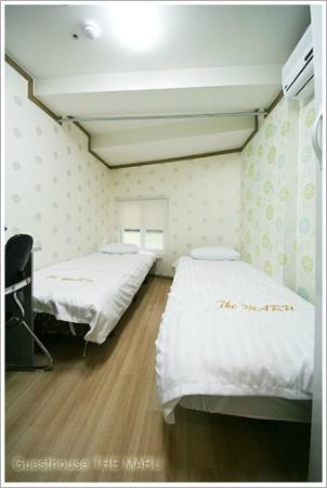 Guesthouse The Maru : twin A Room