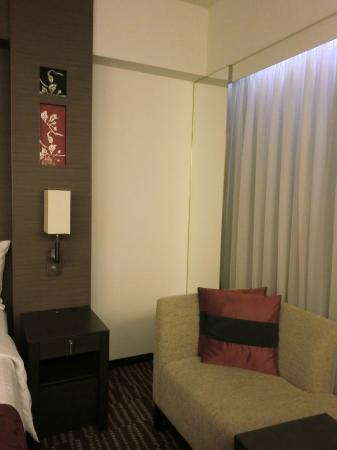 Courtyard Tokyo Ginza Hotel: シックなインテリア
