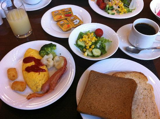 Courtyard Tokyo Ginza Hotel: 朝のビュッフェ