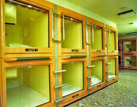 Capsule & Sauna New century: 施設内写真