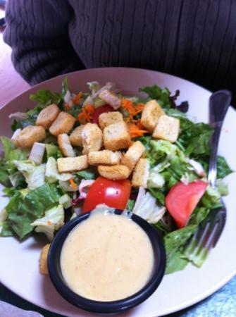 The Grubsteak Restaurant: salad