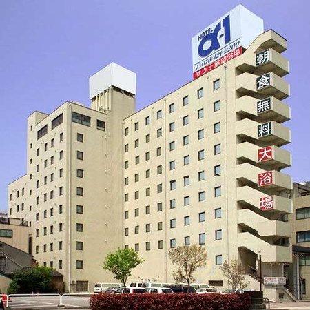 Hotel Alpha-1 Toyama Aramachi : 外観写真