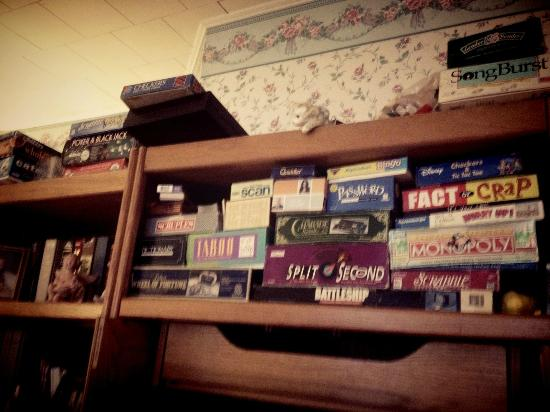 The Inn at the Shore Belmar: board game collection