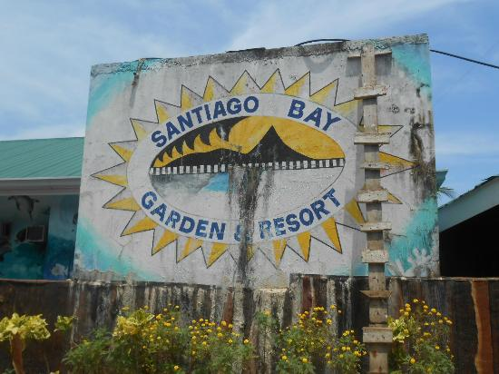 Santiago Bay Garden & Resort: sign board