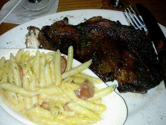 Millhouse Steakhouse Brunswick: ribeye steak