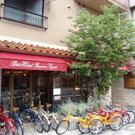 Petit Hotel Kyoto: 外観写真