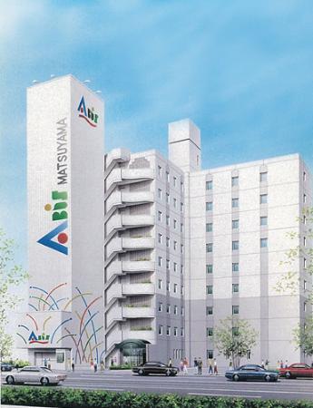 Hotel  Abisu Matsuyama : 外観写真