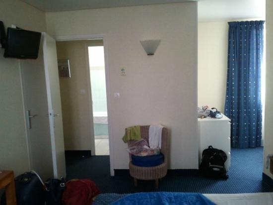 Hotel L'Orque Bleue: Chambre pour 3 type petit appartement