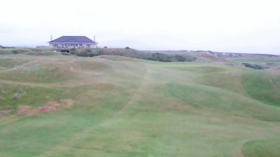 Carne Golf Links: the 18th fairway