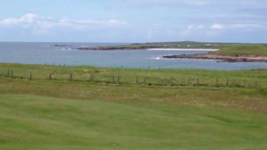 Carne Golf Links: what a lovely day