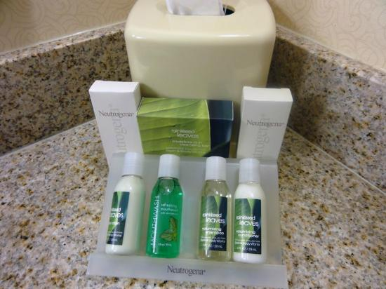 Hilton Garden Inn Halifax Airport: Toiletries