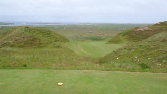 Carne Golf Links: just stick it right down the middle.............