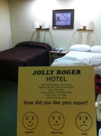 Jolly Roger Hotel: stanza con doppio letto king size