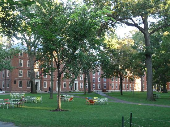 Cambridge, ماساتشوستس: Lovely grounds, Harvard University