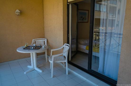 ResidHotel Villa Maupassant: balcon