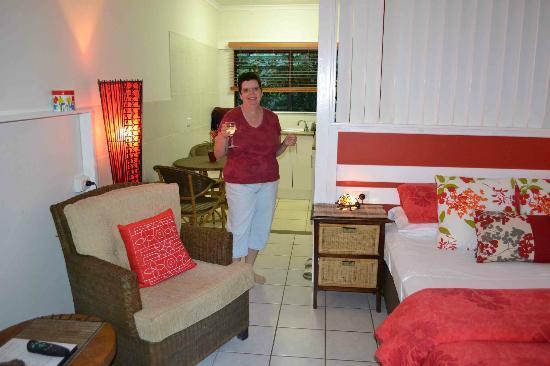 Daintree Rainforest Retreat: Enjoying our room!