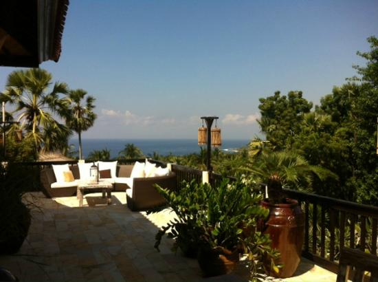 Villa Flow: View from the top